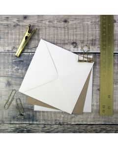 Small Square 130mm Envelopes for making wedding invitations