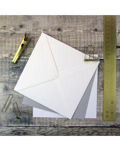 Large Square 155mm Envelopes for Wedding Invitations