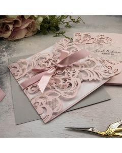 Baroque Lasercut Wedding Invitation Recipe