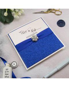 Pocket Card with Diamante Embellishment Recipe