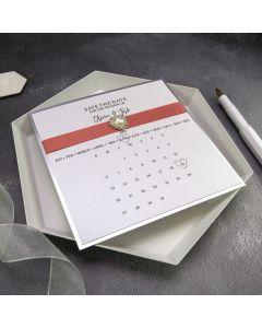 Calendar Save the Date Card Recipe