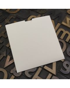 Enfolio Wallet 125mm Sq - Ivory Sparkle