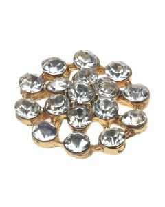 Gold Izzy Diamante Embellishment