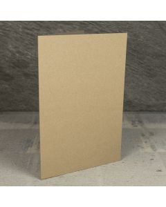 Creased Card A5 - Kraft