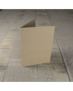 Creased Card C6 - Kraft