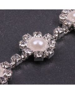 Diamante and Pearl Chain