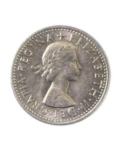 Lucky Sixpence - Front of Coin