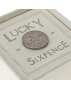Retro Lucky Sixpence