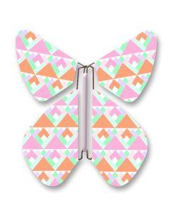 Geometric Magic Flyer Butterfly