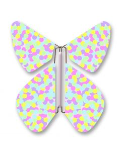Bubble Patterned Magic Flyer Butterfly