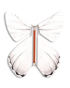 Fashion White Magic Flyer Butterfly