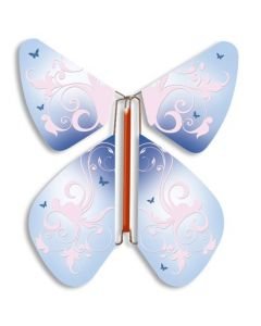 Vintage Blue Magic Flyer Butterfly