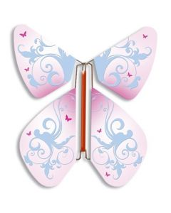 Vintage Rose Magic Flyer Butterfly