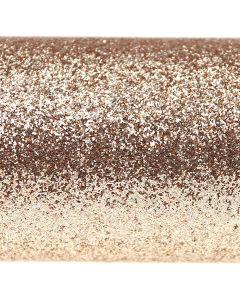 Glitz Champagne Glitter Paper - Close Up