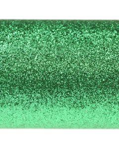 Glitz Bright Emerald Glitter Paper - Close Up