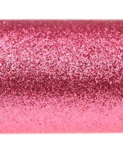 Glitz Coral Pink Glitter Paper - Close Up