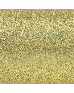 Iridescent Antique Gold A4 Glitter Card - Zoom
