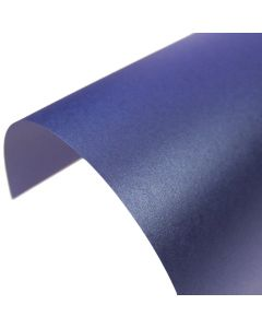 Stardream Sapphire Pearlescent A4 Card - Curve