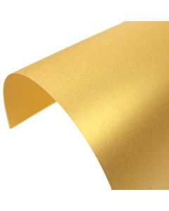 Stardream Gold Pearlescent A4 Card - Curve