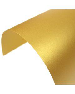 Stardream Fine Gold Pearlescent A4 Card - Curve
