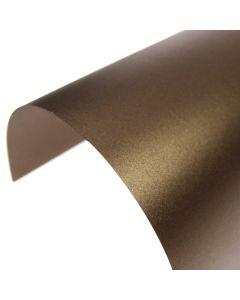 Stardream Bronze Pearlescent A4 Card - Curve
