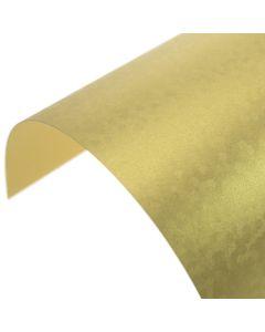 Precious Pearl Regal Gold Sequins Pearlescent A4 Card