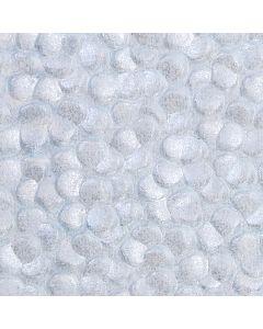 Sea Fret Blue Pebble Paper - Zoom