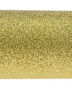 Luxe' Cosmic Burnished Gold A4 Glitter Paper - Zoom