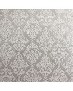 The Gawsworth (Ivory on Ivory) A4 Flocked Paper.