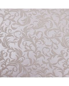 The Kensington (Ivory on Ivory) A4 Flocked Paper