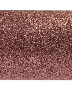 Chocolate Brown A4 Glitter Paper - Close Up