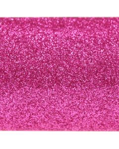 Fuchsia Pink A4 Glitter Paper - Close Up
