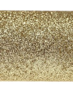 Gold A4 Glitter Card - Close Up