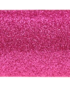 Fuchsia Pink A4 Glitter Card - Close Up