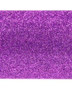 Purple A4 Glitter Card - Close Up