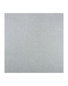 'Luxe' Cosmic Silver Glitter Card 160mm Squares