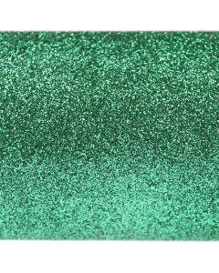 Emerald Green A4 Glitter Paper - Close Up