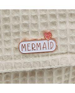 MERMAID Enamel Pin Badge