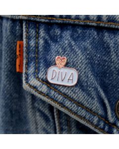 DIVA Enamel Pin Badge
