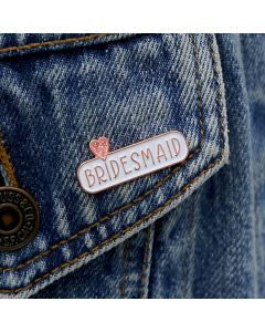 BRIDESMAID Enamel Pin Badge