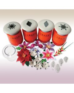Pick of the Bunch Punch and Stamp Sets - Clematis, Lily & Poinsettia