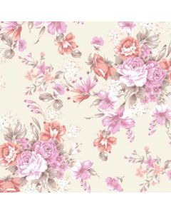 Regency Bouquet Decorative Paper - Zoom