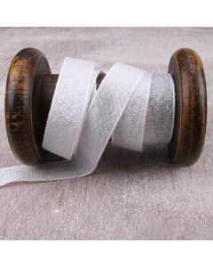 15mm Dazzle Metallic Colour 1 (White) Ribbon