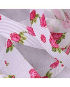 16mm White Colour 029 Vintage Rose (3m roll) - Detail