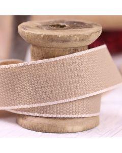 Hopsack 25mm - Ivory