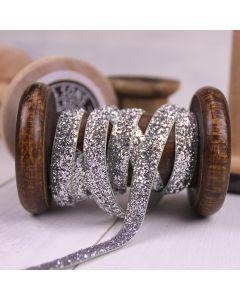 Glitzy Ribbon - Silver