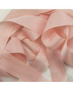 May Arts Pink (Colour 17) 32mm Pure Silk Ribbon x 1m
