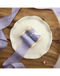 May Arts Lavender (Colour 05) 32mm Pure Silk Ribbon x 1m