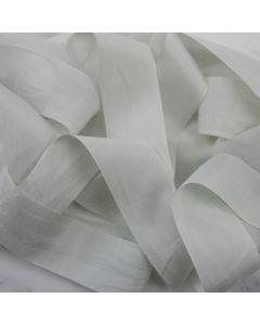 May Arts Quiet Grey (Colour 68) 32mm Pure Silk Ribbon x 1m