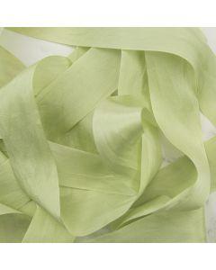 May Arts Mint (Colour 98) 32mm Pure Silk Ribbon x 1m